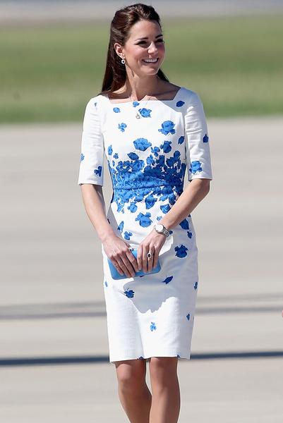 Фото №17 - Кейт Миддлтон в Австралии: наряды герцогини
