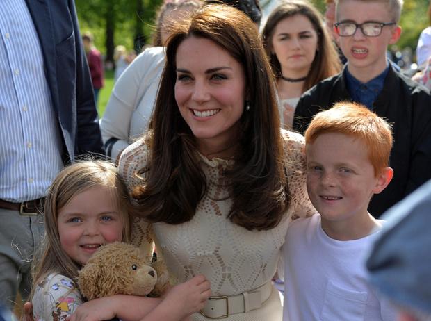 Фото №11 - Герцогиня Кембриджская нервничает