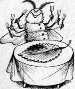 Фото №3 - Тридцать дней за столом, или Бурная жизнь шелковичного червя