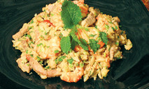 Плов по-тайски со свининой и креветками от эльмиры меджитовой