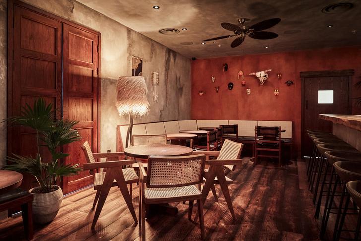 Фото №11 - Мексиканский ресторан в Лондоне по проекту A-nrd studio