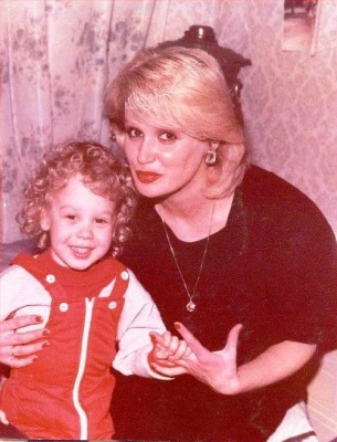 Татьяна Зайцева с сыном Алексеем