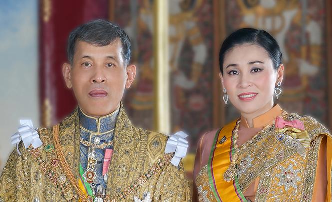 Фото №2 - Представлены официальные снимки королевы Таиланда