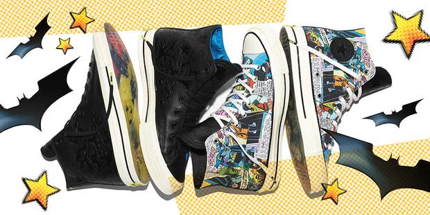 Фото №1 - Converse представляет коллекцию совместно с DC Comics