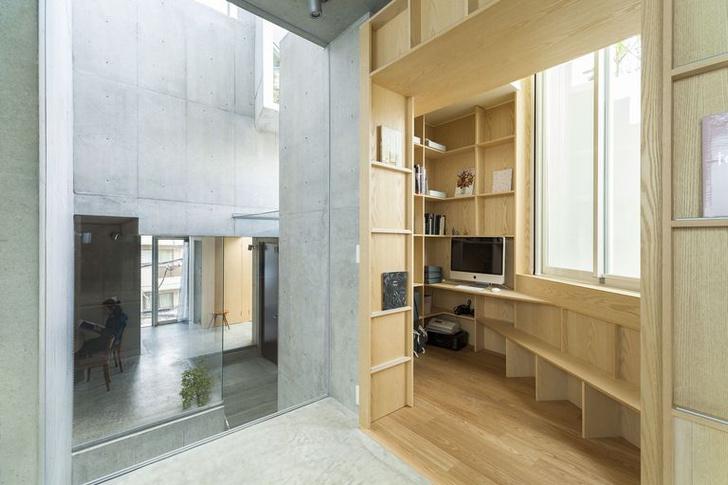 Фото №4 - Бетонные джунгли: дом в Токио