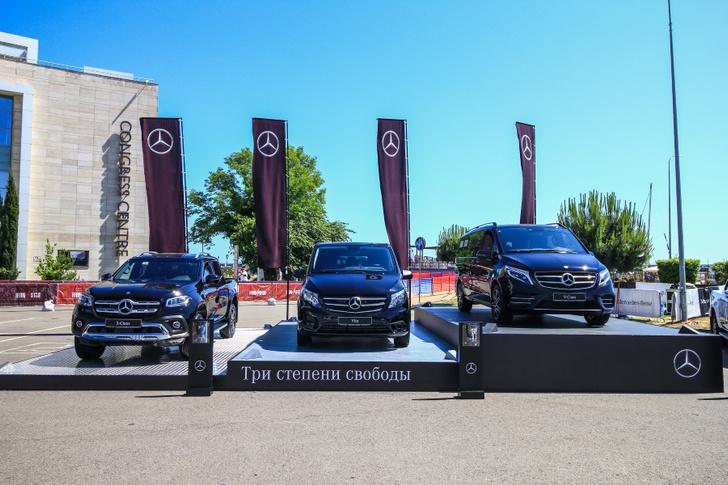 Фото №4 - Mercedes-Benz поддержал IRONSTAR 2019