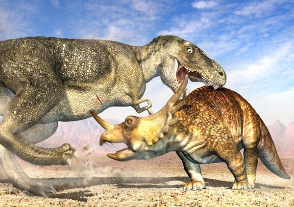 Фото №5 - Вооружение эпохи динозавров