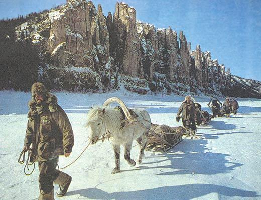 Фото №1 - Новые приключения французов в Сибири