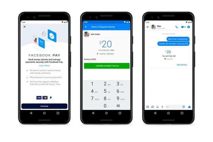 Фото №1 - Facebook запустила свою платежную систему. Она будет работать в Instagram и WhatsApp