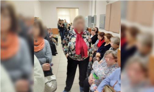 Фото №1 - Петербуржцы: «В онкодиспансере на Березовой огромные очереди на медкомиссию»
