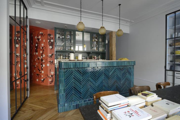 Фото №2 - Парижская квартира для творческой пары с двумя детьми