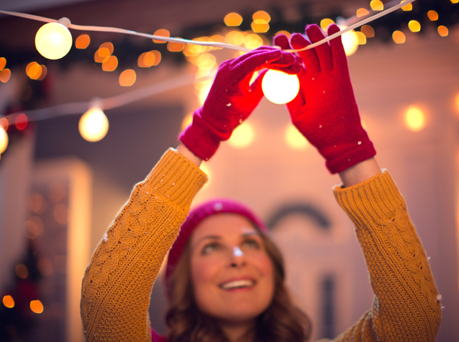 Фото №6 - 5 вдохновляющих идей для создания новогодней атмосферы дома