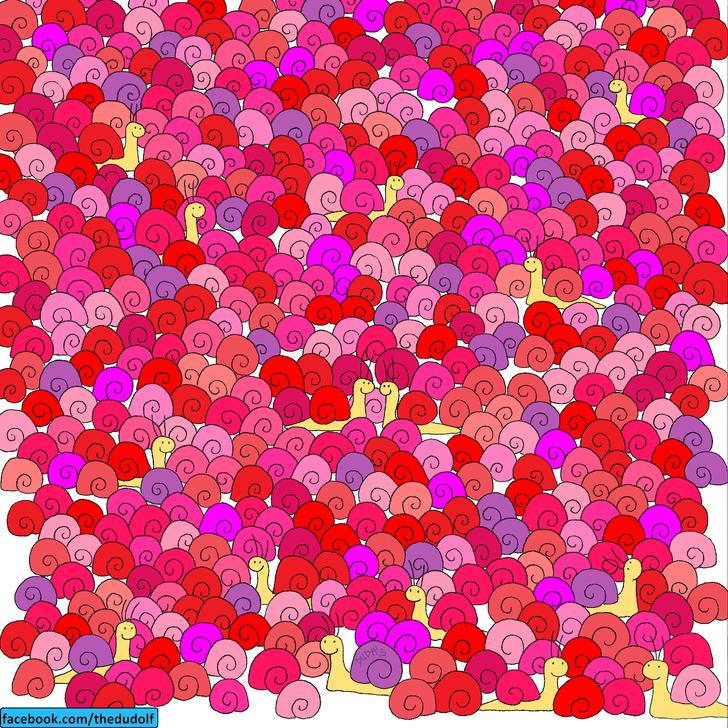 Фото №1 - Хитроумная головоломка: сможешь сказать, где тут сердце?