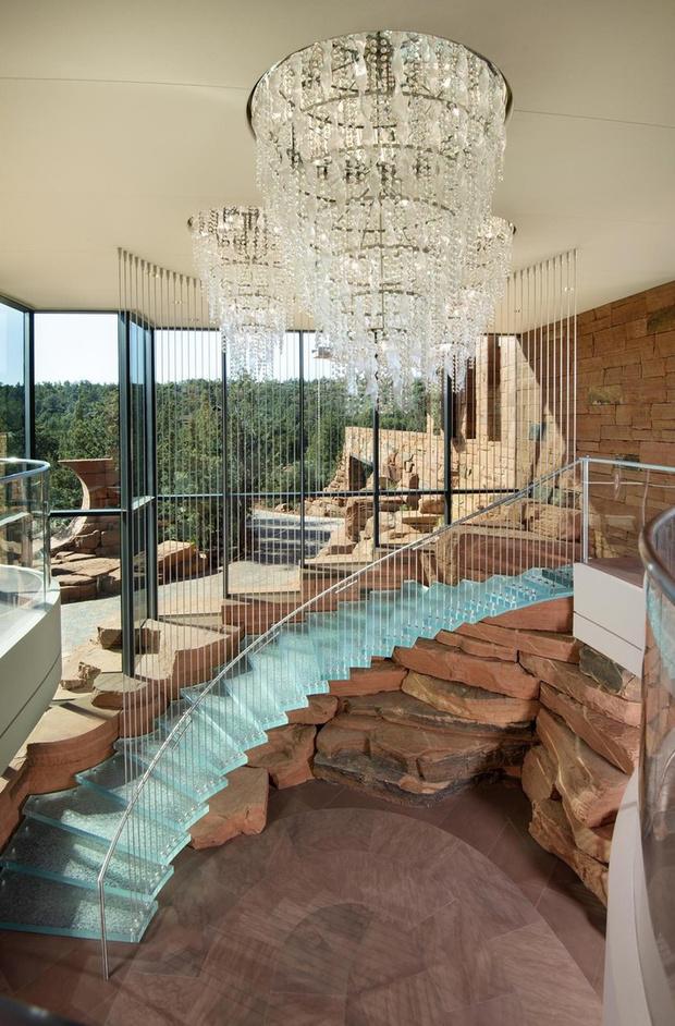Фото №7 - Роман с камнем: необычный жилой комплекс в Аризоне