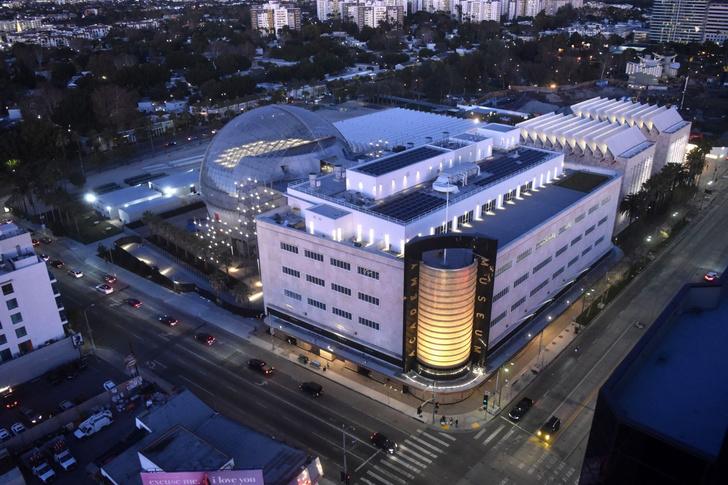 Фото №2 - В Лос-Анджелесе открылся Музей Академии киноискусств по проекту Ренцо Пиано