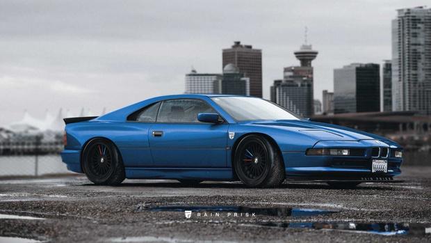 В конце 80-х BMW разрабатывала (да так, увы, и не доразработала) прямого конкурента суперкарам Ferrari. А ведь если бы топовый спортивный «биммер» выглядел вот так, у него определенно был бы шанс…