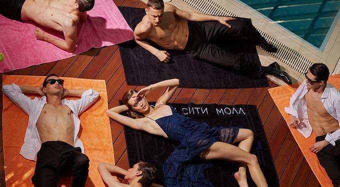 Super Woman в новой рекламной кампании «Крокус Сити Молла»