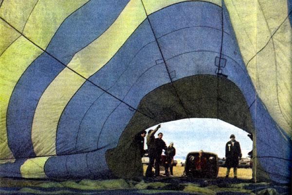 Фото №1 - Возвращение монгольфьеров