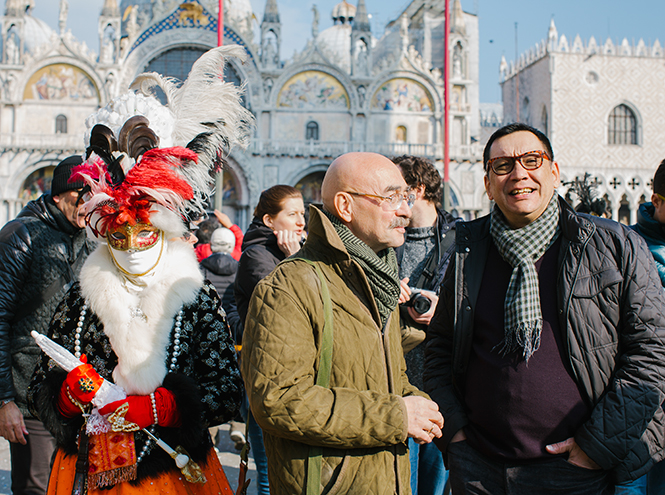 Фото №1 - Егор Кончаловский и Андрей Бильжо: разговор в Венеции