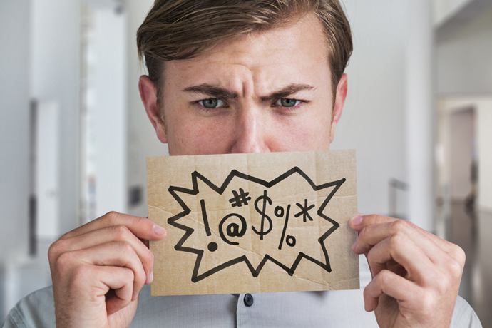 """When """"bad words"""" are good for the psyche"""