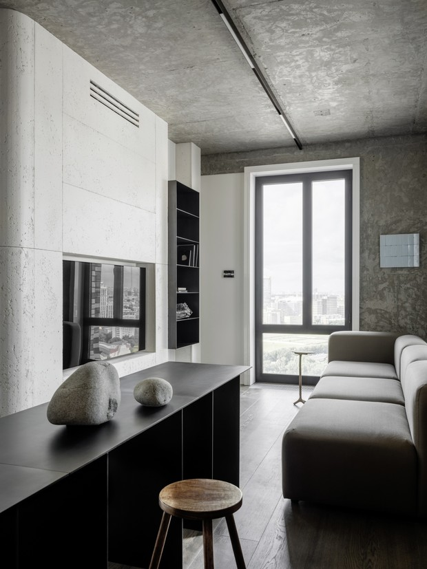 Фото №2 - Маленькая квартира 50 м² с панорамными видами в Москве
