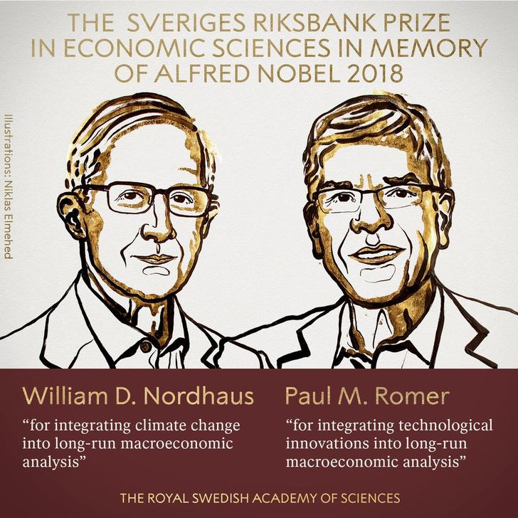 Фото №1 - Объявлены лауреаты Нобелевской премии по экономике