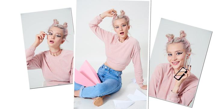 Фото №5 - Как быть стильной бунтаркой на учебе: 4 образа от блогера Леры Долговой