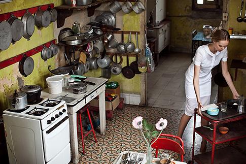 Бэкстейдж со съемки Илоны на Кубе, в которой она сама была set-дизайнером