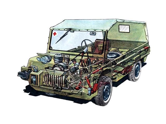 Фото №2 - Советский автомобиль для управления из положения лежа