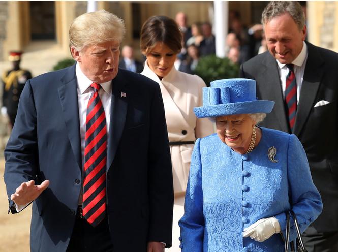 Фото №4 - Дональд Трамп познакомит Королеву со своей большой семьей