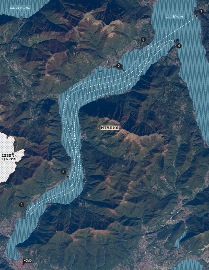Фото №2 - Виртуальная экскурсия на озеро Комо: виллами по воде