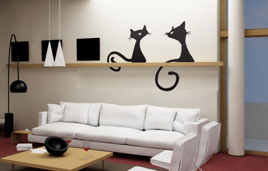 Наклейки Cats, Decorissimo, 900 руб