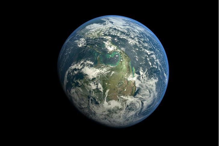 Фото №1 - Голубая планета