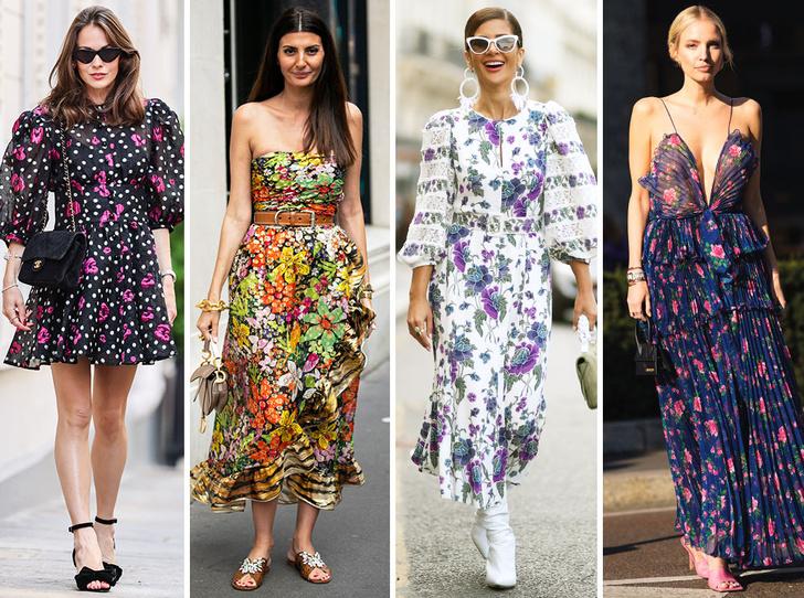 Фото №1 - Для лета и не только: самые модные платья с цветочным принтом