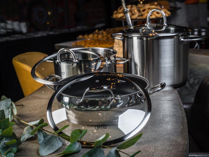 Фото №3 - Повару под елку: профессиональная посуда Gipfel Horeca Professional