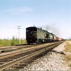 Фото №1 - Поезд в Иртыше