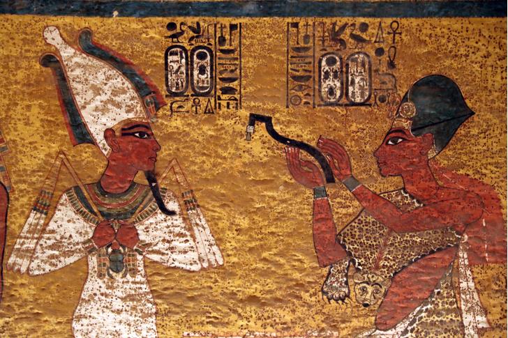 Фото №1 - Ученые обнаружили тайники в гробнице Тутанхамона