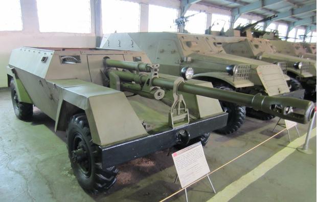 КСП-76 в экспозиции танкового музея в Кубинке