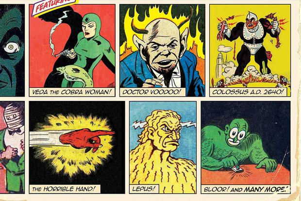 Фото №1 - 9 дурацких героев комиксов