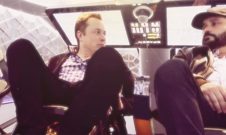 Кадр из фильма «Илон Маск: Настоящий железный человек»