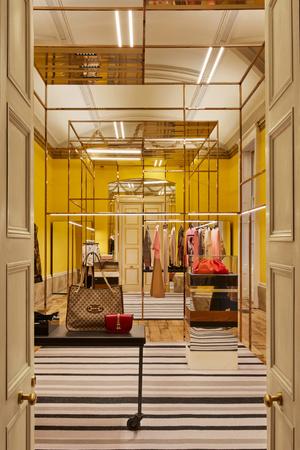 Фото №6 - Новый бутик в Лондоне по дизайну Dimorestudio