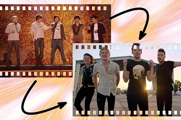 1D на финале The X Factor и клип Drag Me Down
