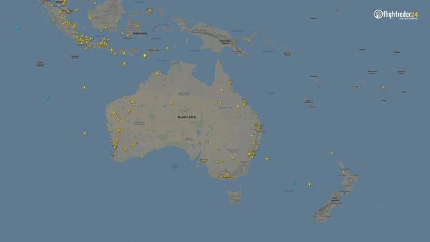 Фото №13 - Как изменился авиатрафик в разных регионах мира во время пандемии