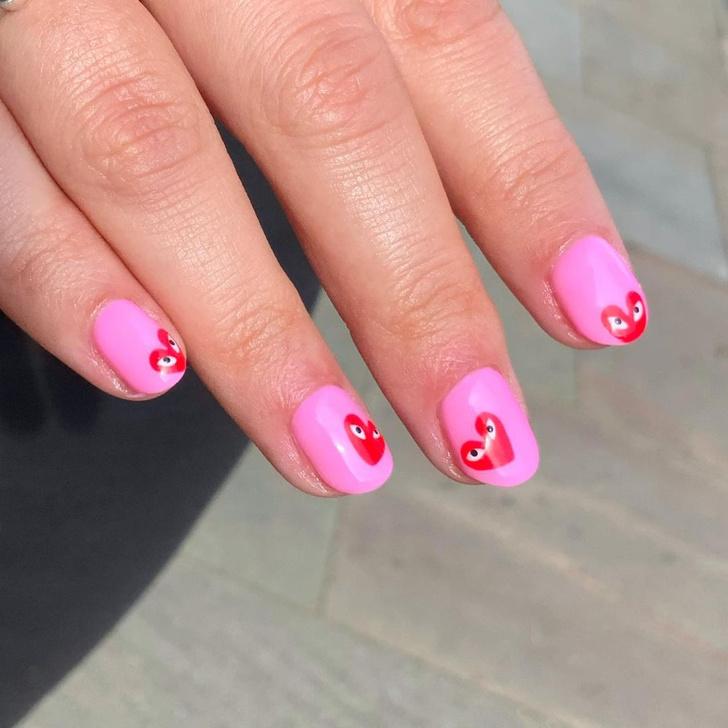 Фото №5 - Go pink! 15 идей розового маникюра