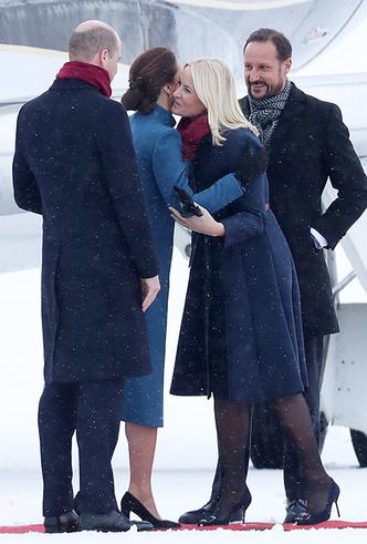 Фото №5 - Кейт Миддлтон и принц Уильям в Норвегии: день первый
