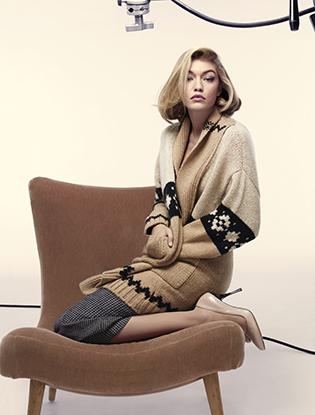 Фото №6 - Джиджи Хадид в рекламной кампании Max Mara