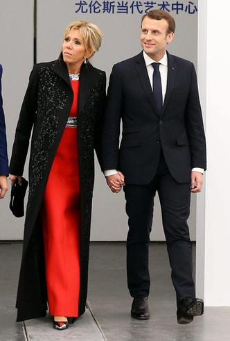 Фото №3 - Лучше, чем Мелания: 5 идеальных нарядов Брижит Макрон в Китае