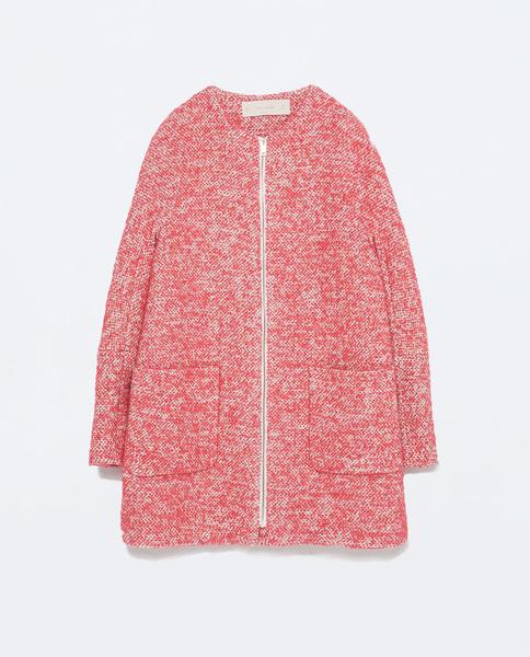 Пальто, Zara, 6 999 руб.