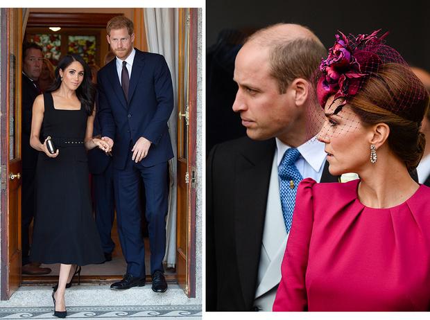 Фото №1 - Настоящая причина, почему Гарри и Меган разъезжаются с Уильямом и Кейт