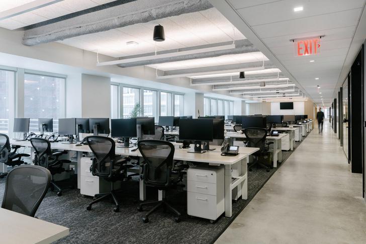 Фото №6 - Офис в светлых тонах в Нью-Йорке